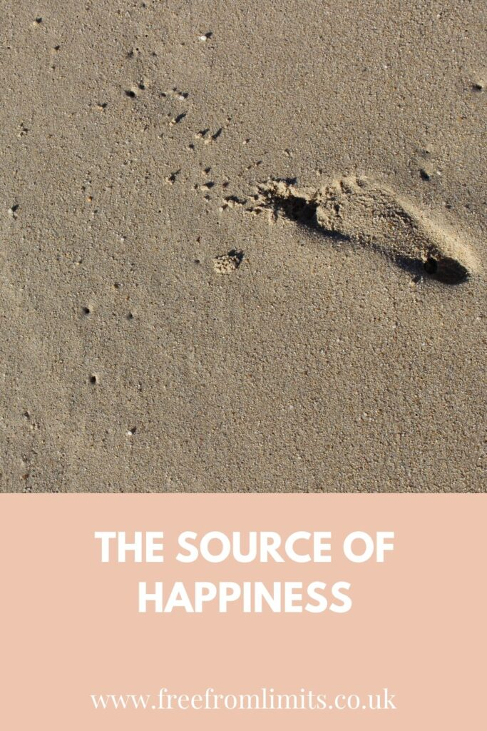 What is the source of happiness? This is something that I explore in this article...