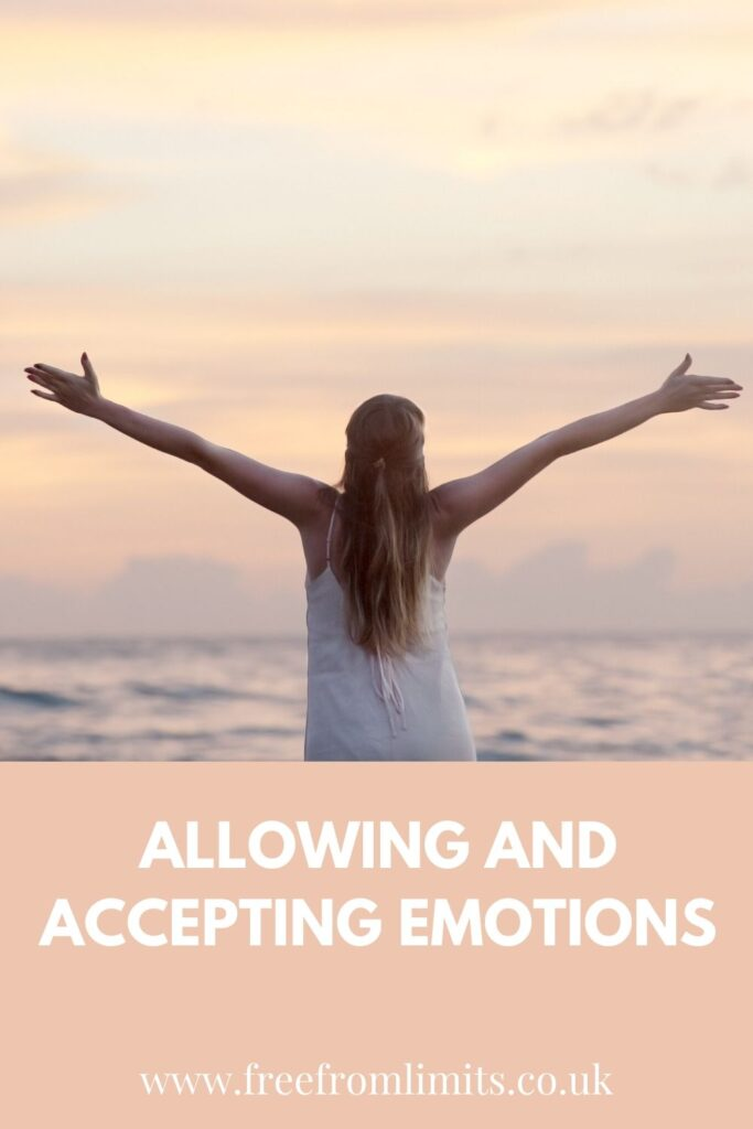 Allowing and accepting emotions is one way to be free. What if every emotion or feeling was equal? How would that impact your life knowing that? In this article I explore this further...