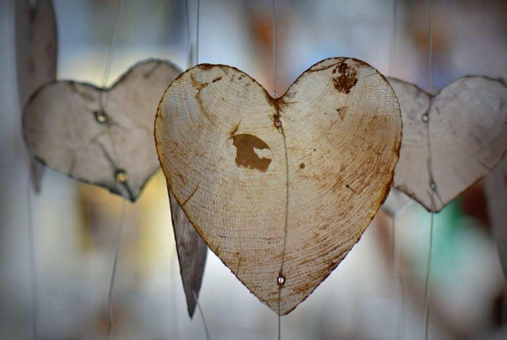 hearts of acceptance. When we accept the moment as if we had chosen it we become free.