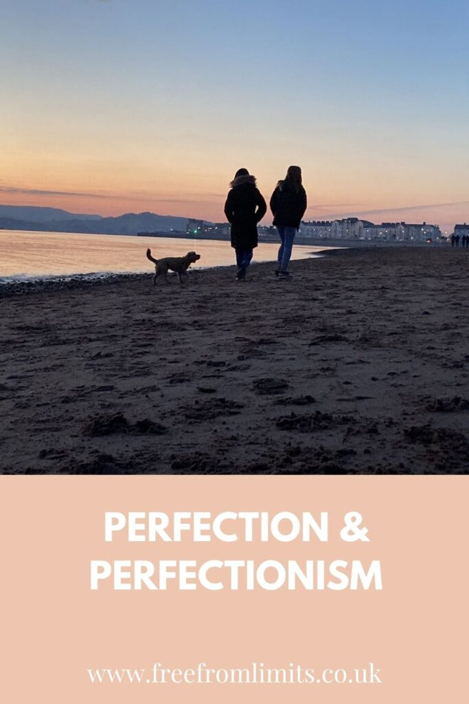 How do you overcome perfectionism? In this article I share what I see about perfection and how it can be seen differently... #freefromlimits #perfectionism #perfection